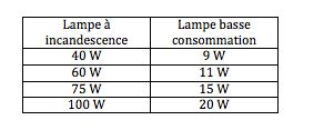 comment choisir une ampoule conomie d 39 nergie fluocompacte consommer durable. Black Bedroom Furniture Sets. Home Design Ideas