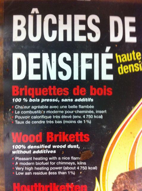 Les Bûches De Bois Compressé Ou Bûches De Bois Densifié