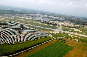 Energie une centrale solaire qui prend soin de la for Central jardin rosiere