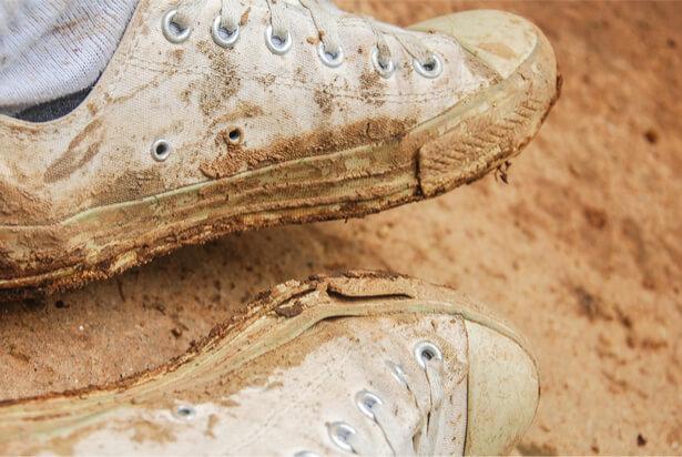 taches de boue