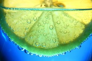 Boisson pétillante bicarbonate de soude