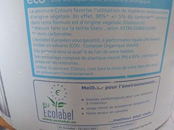 Comment rep rer une peinture toxique ou naturelle consommer durable - Vinaigre blanc composition ...