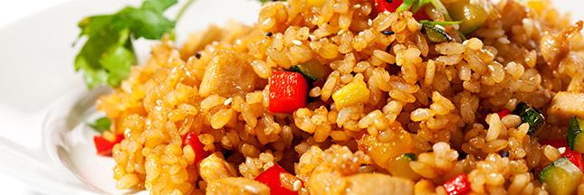 riz aux poivrons alimentation saine étudiant cuisine idée recettes