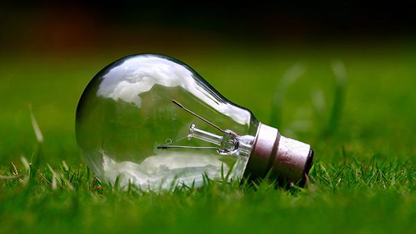 électricité verte ampoule