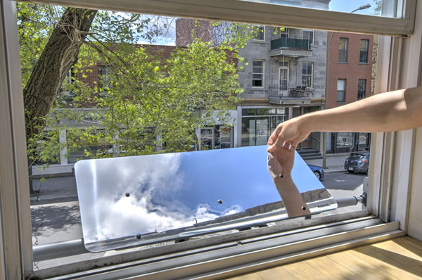 Comment optimiser la lumi re naturelle chez soi consommer durable - Reflecteur de lumiere fait maison ...